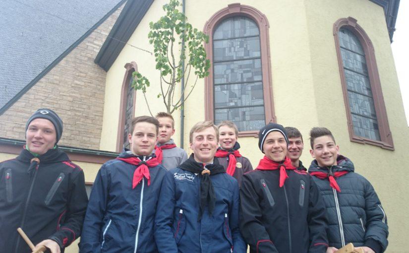 Messdiener St. Gertrud sagen DANKE für Ihre Spenden zum Werren 2014