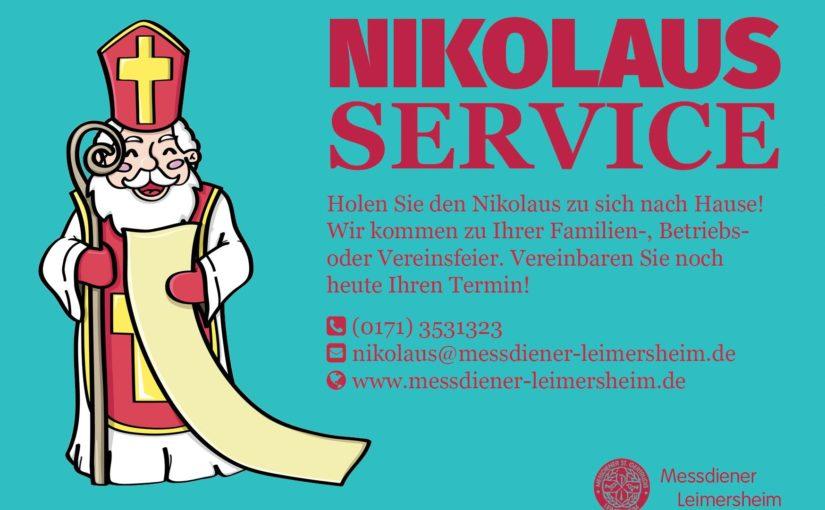Messdiener St. Gertrud starten Nikolaus-Service für Leimersheim und die Umgebung