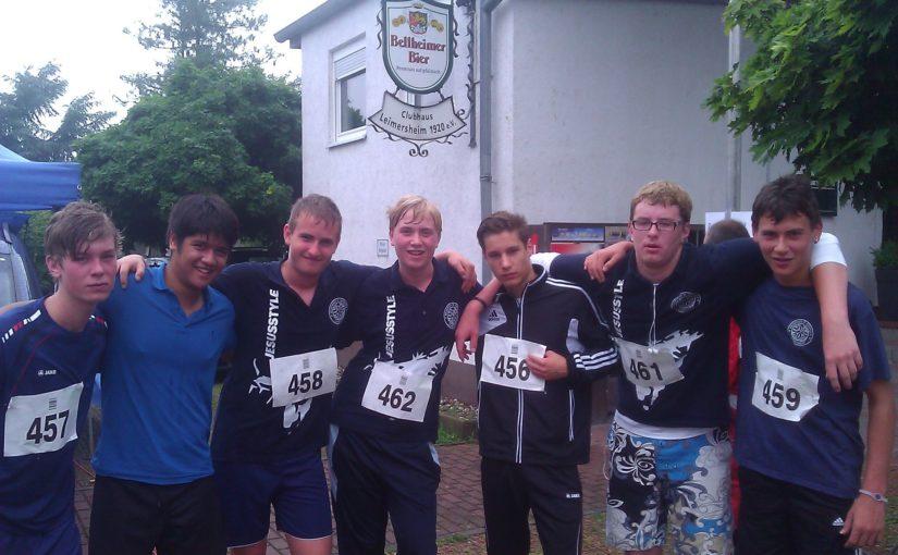 Messdiener erreichen 3. und 6. Platz bei den Lauf-Dorfmeisterschaften