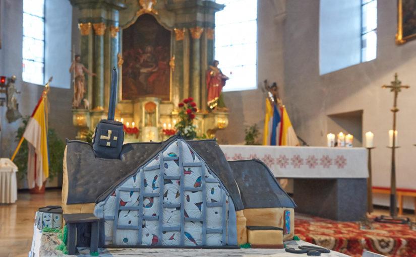 Liebe Leute, es ist wahr: St. Gertrud wird heut 50 Jahr'!