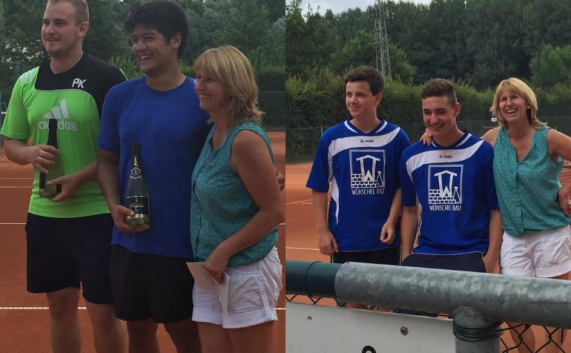 Messdiener St. Gertrud sind Vize-Dorfmeister im Tennis