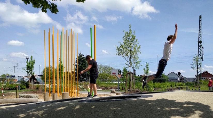 Ferienprogramm Leimersheim: Ausflug zur alla-hopp!-Anlage