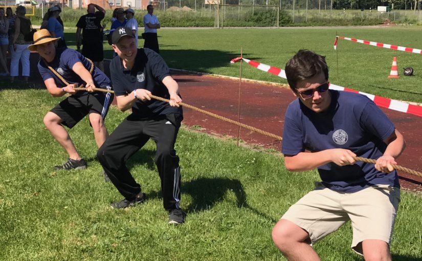 Messdiener St. Gertrud erringen 5. Platz bei den Highland-Games