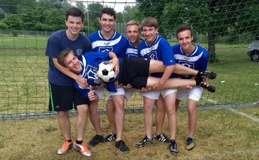 Messdiener erringen 5. Platz bei Fußball-Dorfmeisterschaften