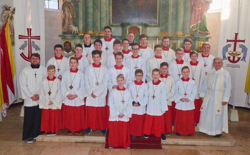 Messdieneraufnahmefeier 2018 – ein neuer Messdiener für St. Gertrud