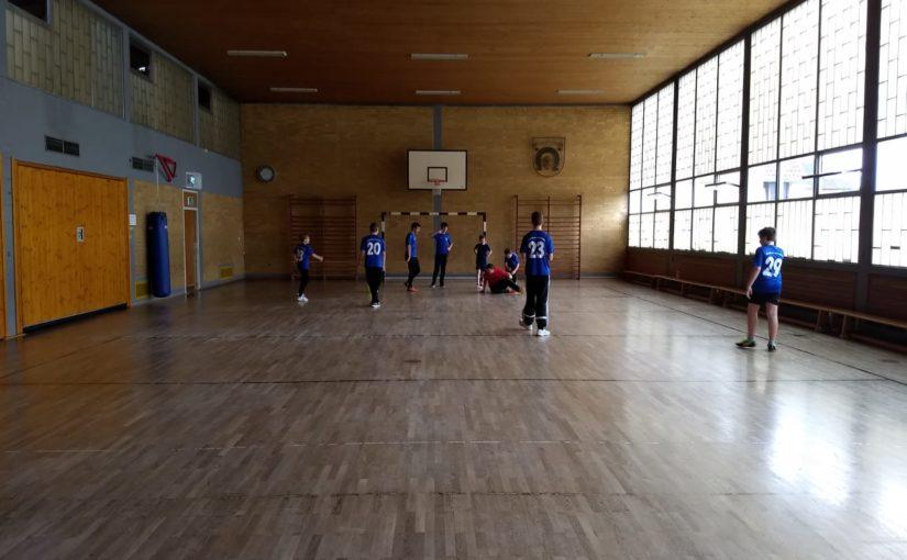 Messdienersporttag in der Grundschulturnhalle