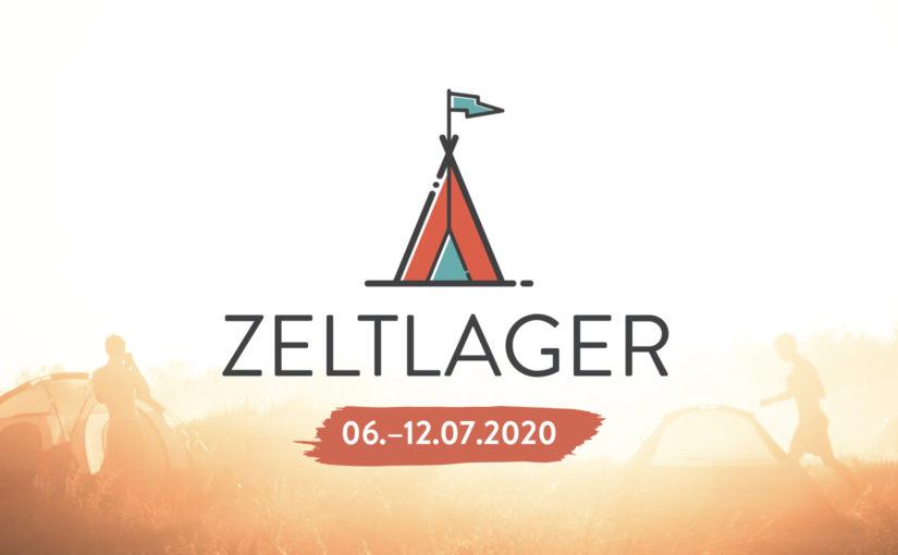 Terminankündigung: Zeltlager 2020