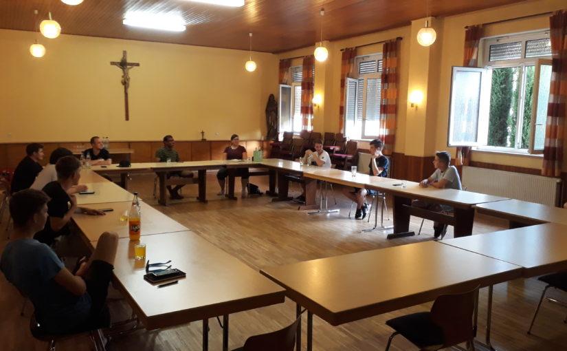 Erstes Treffen mit der neuen Pastoralassistentin Annika Bär