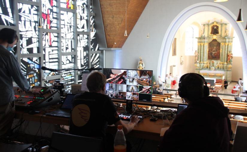 Messdiener streamen zum letzten Mal aus St. Gertrud